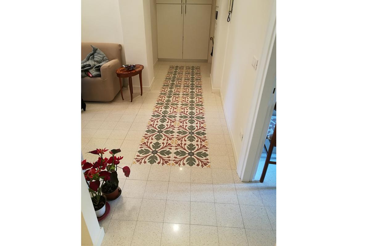 Pavimenti in graniglia casa privata S.Giovanni_arch. Federici Francesca (1)