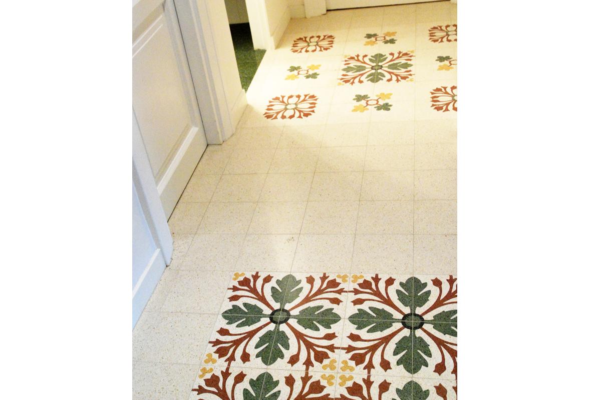 Pavimenti in graniglia casa privata S.Giovanni_arch. Federici Francesca (3)